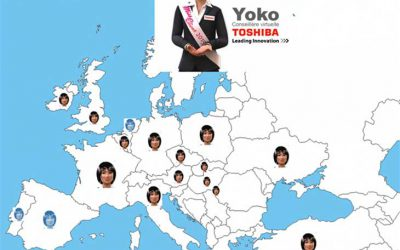 Yoko, Toshiba Virtual Helpdesk Assistant, successfully deployed across Europe!