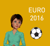 Living Actor™ Virtual Assistant Nora is at the heart of the 2016 UEFA European Championship