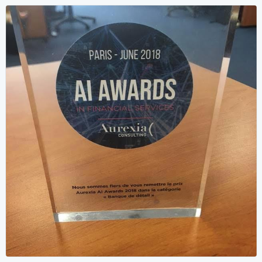 The award received by Living Actor at Aurexia Consulting AI Awards